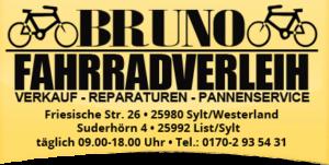 Bruno Fahrradverleih auf Sylt