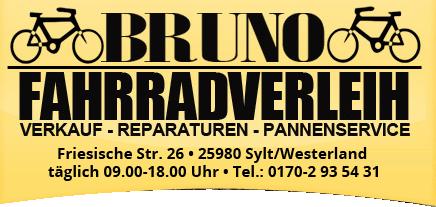 Fahrradverleih Sylt – BrunoRad Logo