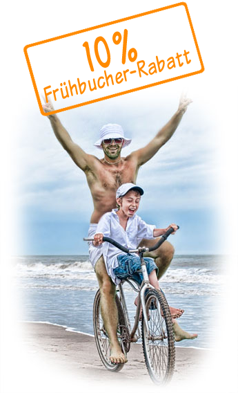 Fahrradverleih 10% Frühbucher-Rabatt